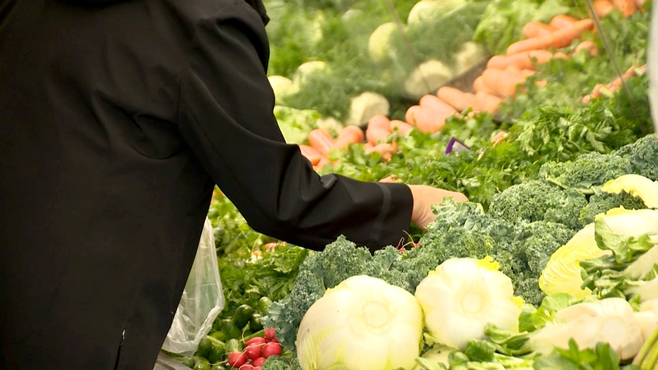 Produce vegetables groceries