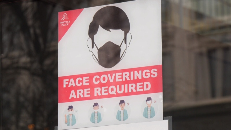 Mask fine Manitoba
