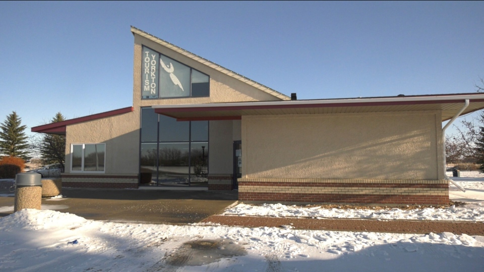 The Yorkton Tourism building. (CTV News)