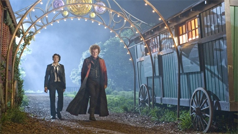 Chris Massoglia and John C. Reilly in Universal Pictures' 'Cirque Du Freak: The Vampire's Assistant'