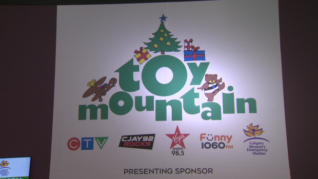 Toy Mountain hopes to raise 350 thousand dollars for the Calgary Women's Emergency Shelter. Donate now!