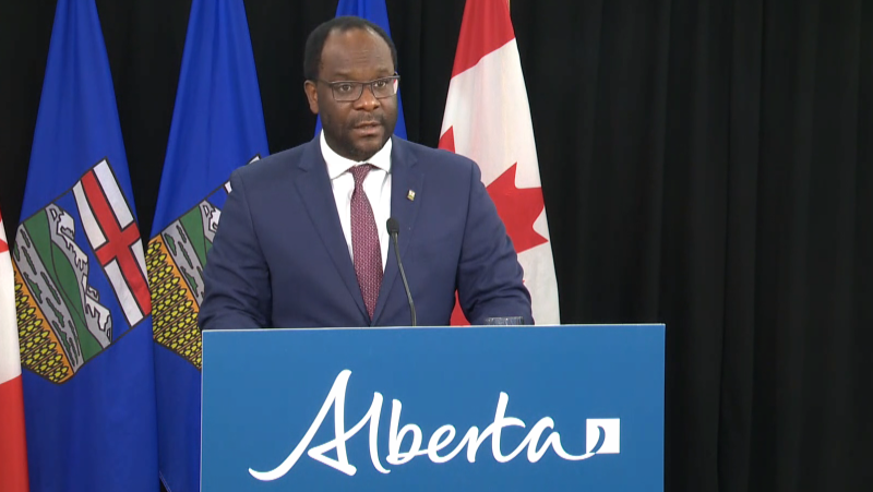 Alberta Justice Minister Kaycee Madu has apologized for comments made online about the COVID-19 pandmeic. (File photo)