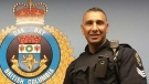 Sgt. Davindar Dalep was placed under a court-ordered peace bond and has been put on non-uniform administrative duty by the Oak Bay Police Department. (Twitter)