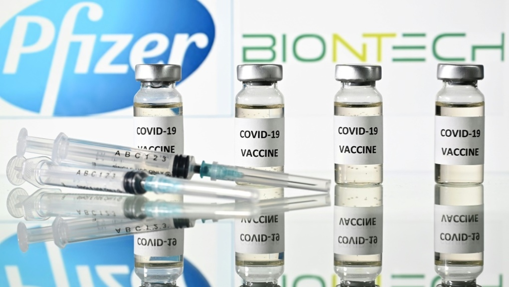 BioNTech vaccine developed with Pfizer