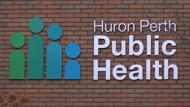 Huron Perth Public Health sign