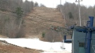 Snow making operations are underway at Camp Fortune ahead of the winter ski season. (Chris Black/CTV News Ottawa)