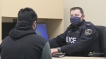 Police in Timmins are testing out the new translation service with help from students at Northern College. Sergio Arangio reports.