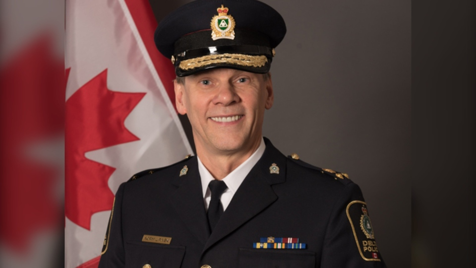 CTV News Vancouver sources tell us the Surrey Police Board is hiring Norm Lipinski, currently the deputy chief of the Delta Police Department, to be the first chief of the city's new municipal police force. (Delta Police Department photo)