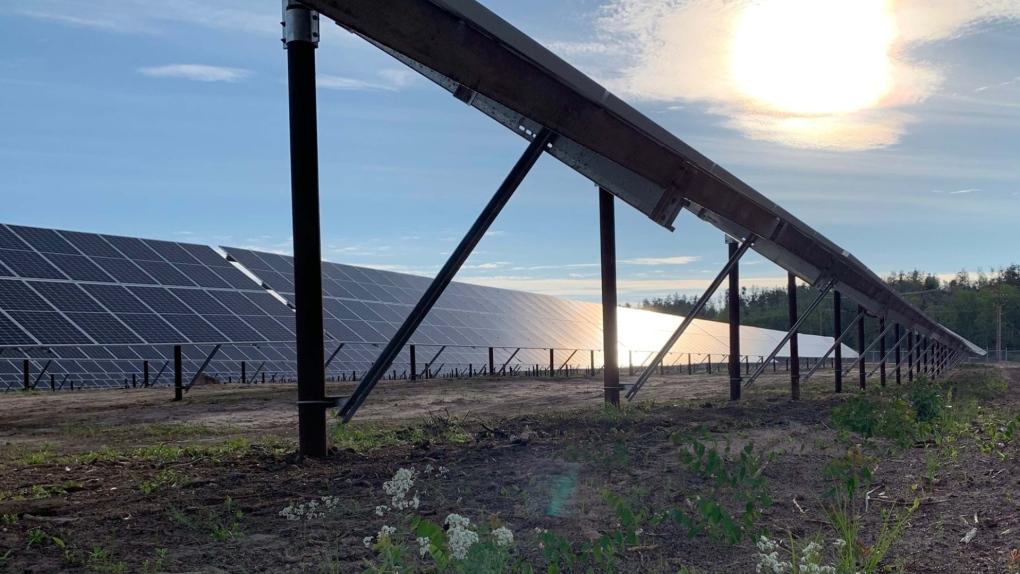 Fort Chip solar farm