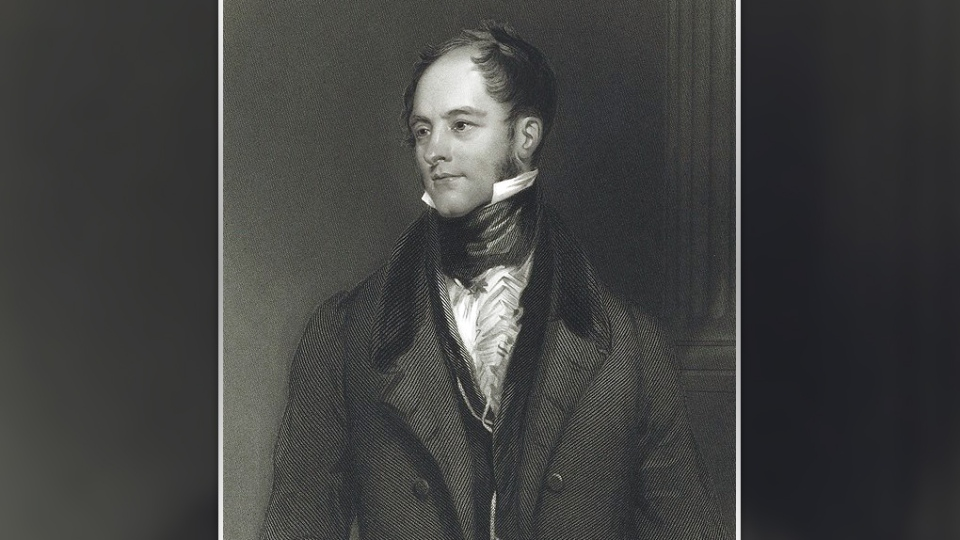Goulbourn is named after Sir Henry Goulbourn, the former Undersecretary of State in the British Government. (Photo courtesy: National Portrait Gallery)