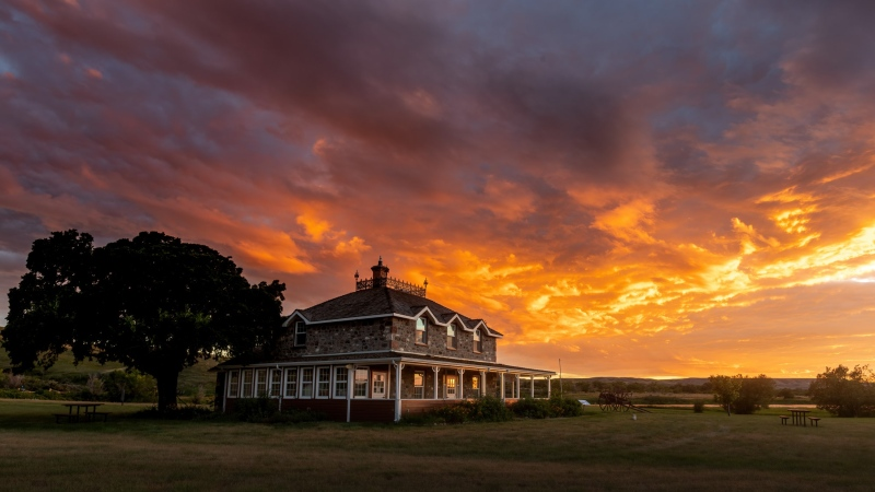 Amazing Sunset over Goodwin House - Craig Hilts