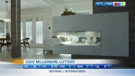 Touring prize home, millionaire lottery
