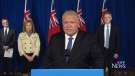 Ontario Premier Doug Ford on Nov. 20, 2020. (CTV News)