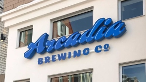 Arcadia Brewing Co. at Manchester Square. Nov. 20, 2020. (CTV News Edmonton)