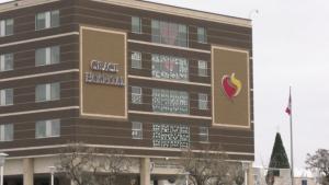 Winnipeg's Grace Hospital is pictured on November 20, 2020. (CTV News Photo Josh Crabb)
