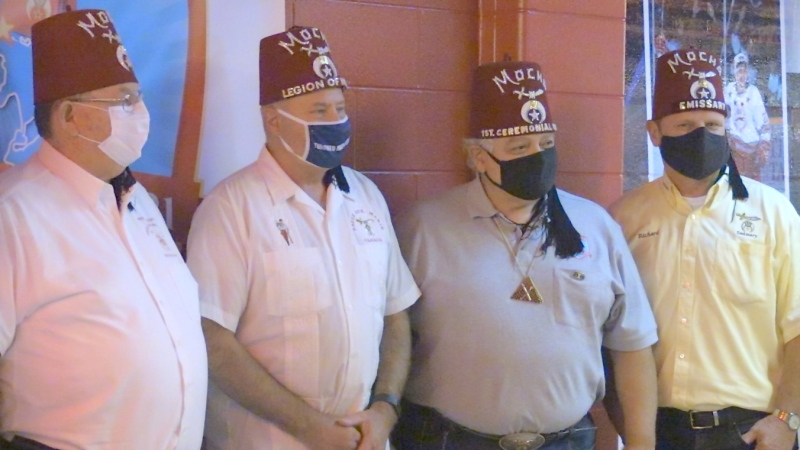 Mocha Shriners and the Sault Shrine Club are planning a massive week-long ceremonial, with more than 1,000 delegates from across North America expected to attend. (Christian D'Avino/CTV News)