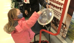 The Salvation Army of North Bay's Christmas Kettle Campaign is underway. In its 130th year, the fundraiser will look a bit different this year. (Eric Taschner/CTV News)
