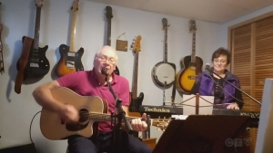 The Sault's Don Discher and Lyn Mazzonello do a sweet cover of Johnny Duncan and Janie Fricke's 'Stranger.'