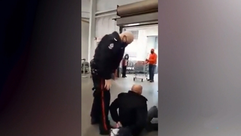 Maskless man arrested in Edmonton Costco