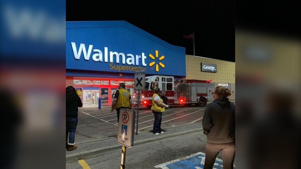 North Bay Walmart Fire