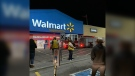 Officials in North Bay respond to a fire at a Walmart location on Fisher Street (Courtesy: Betty Tomatuk)