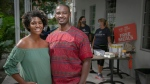 In this Nov. 11, 2020, photo, Jamila Ross and Akino West have tried various tactics to keep their Overtown bed and breakfast, Copper Door, open, in Miami. (Jose A. Iglesias/Miami Herald via AP)
