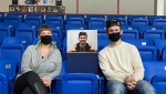 """The Renfrew Wolves hope to """"Fill the Stands"""" with cardboard cut outs during the COVID-19 pandemic. (Photo courtesy: Renfrewwoleves.com)"""