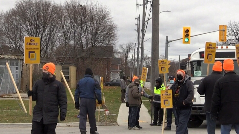 More than 50 workers on strike in Guelph