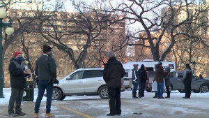 Small turn out for Winnipeg anti-lockdown rally