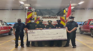 Earlier in November, the department learned it was the winner of the Fire Hall Photo Contest by AA Munro Insurance – a cash prize of $5,000.
