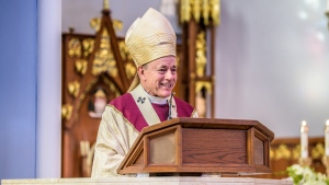 Archbishop of Vancouver J. Michael Miller is seen in this photo from the Archdiocese of Vancouver's website.
