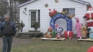 After a successful Halloween decorating contest, the town is decking the halls for the holidays