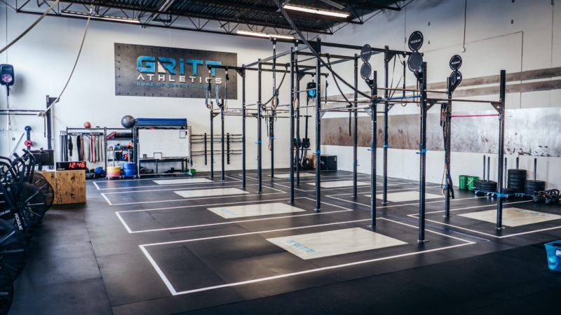 Gritt Athletics in Langley is seen in this photo from its website.