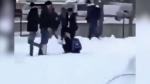 School yard attack reaction