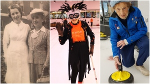 Lola Holmes is shown in images posted on guinnessworldrecords.com