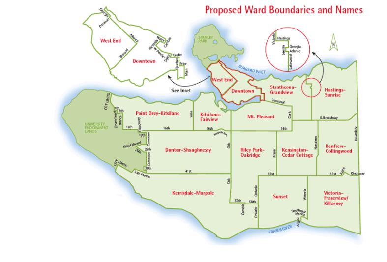 Vancouver ward vote