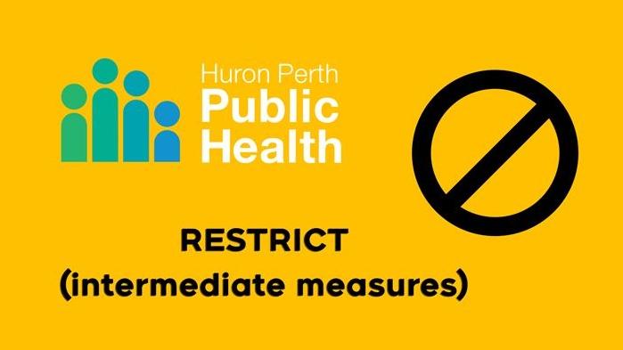 Huron-Perth Public Health Orange Zone
