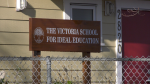 The exposure occurred on Nov. 16 and 17 at the Victoria School for Ideal Education at 2820 Belmont Ave. in Victoria. (CTV News)