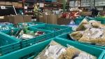 Donations at Edmonton's Food Bank. Nov. 23, 2020. (Brandon Lynch/CTV News Edmonton)
