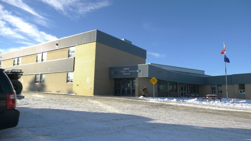 École H.J. Cody High School. Nov. 23, 2020 (Nav Sangha/CTV News Edmonton)