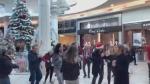 Anti-mask dance gathering