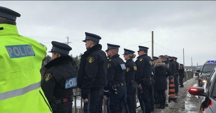 OPP procession