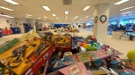 Salvation Army meets demand for toys