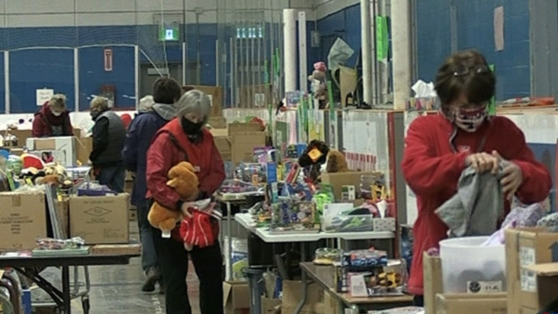 Pandemic ups demand up for Christmas hampers