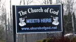 Manitoba church holds service despite restrictions