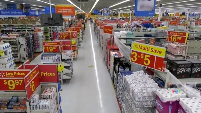 Walmart dealing with Manitoba retail restrictions