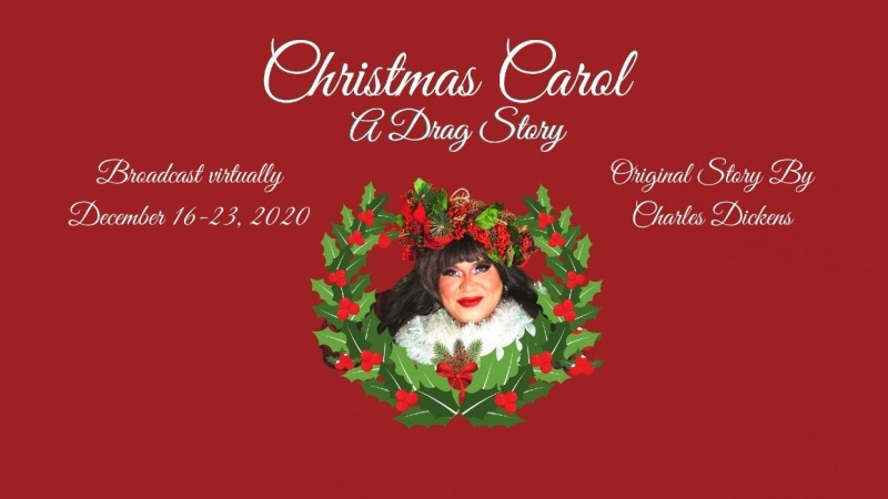 Blue Jeans Theatre, a new queer theatre collective in Calgary, are presenting: Christmas Carol: A Drag Story. (supplied)