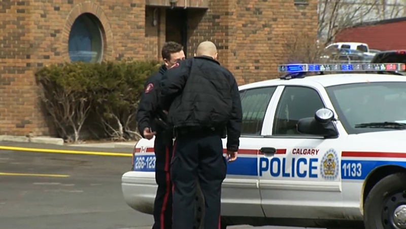 Calgary police officers are increasingly being called upon to escort COVID-19 positive homeless people to hospital. Bill Macfarlane reports