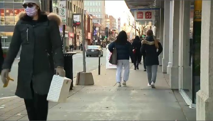 Many people in Nova Scotia are opting not to travel to Halifax for holiday shopping.