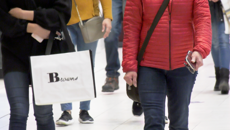 With restrictions looming, shopping is booming in Calgary. Kevin Green reports